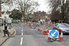 Roadworks on the Plain, Oxford. © Cyclox.