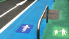 Image: 'Neat and Tidy' (Car, bike, and pedestrian lanes) by Steven-L-Johnson [CC BY 2.0], via Wikimedia Commons