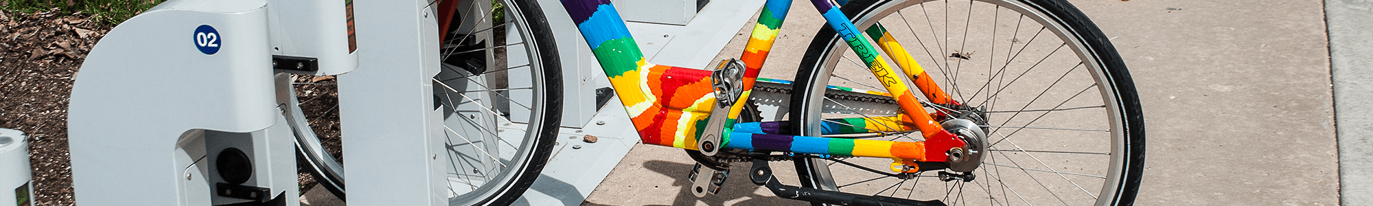 Rainbow bike © Tim Spijkerman